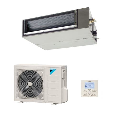 Daikin Slim Ducted Air conditioning Unit Inverter Heat pump FDXS25F 2.5Kw/9000Btu A+ 240V~50Hz