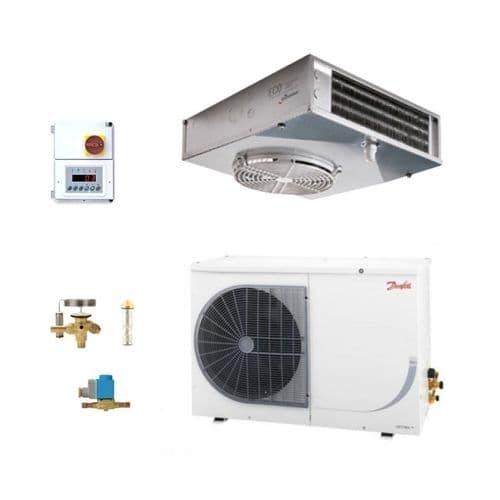 Danfoss Optyma Frozen Food EVS201/BED OP-LSQM026AJW05G -21 DegC 5M3 Room Coldroom Kit