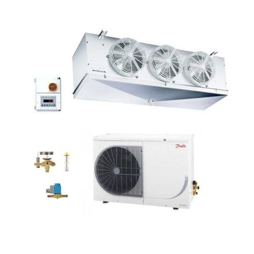 Danfoss Optyma Frozen Food OP-LSQM074FHW05G + Eco FS220L1/3B-21 DegC20M3 Room Coldroom Kit