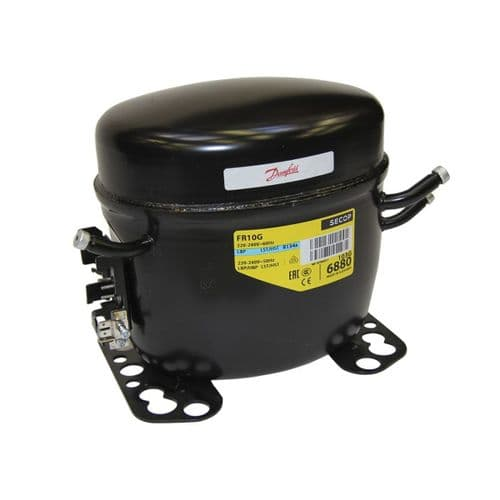 Danfoss Refrigeration Compressor FR10G LMHBP HST R134A Tubed 240V~50Hz
