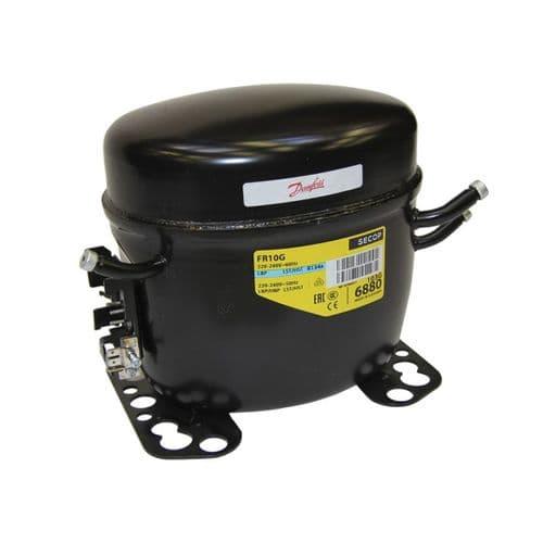 Danfoss Refrigeration Compressor FR10GX LMHBP HST R134a Tubed 240V~50Hz