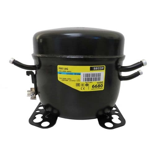 Danfoss Refrigeration Compressor FR7.5G LMHBP HST R134A Tubed 240V~50Hz