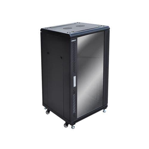 Eagle 20U Network/Data Rack Cabinet with Glass Door