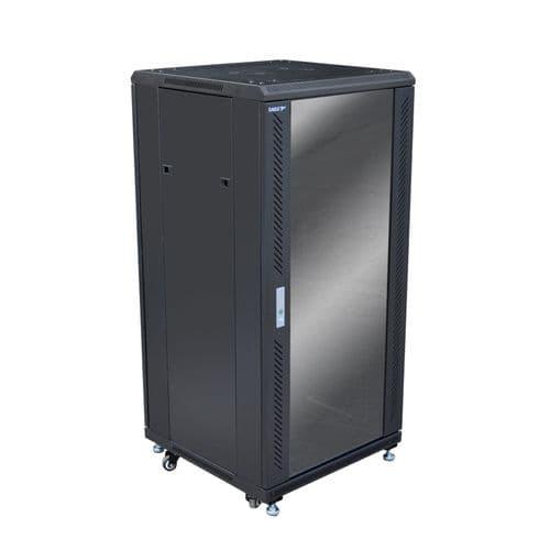 Eagle 24U Network/Data Rack Cabinet with Glass Door