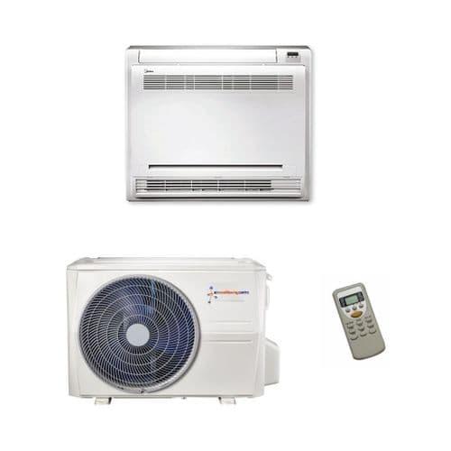 Easyfit Air Conditioning KFR-37CIW/X1c Floor Console Inverter Heat Pump (3.5Kw/18000Btu) 240V~50Hz