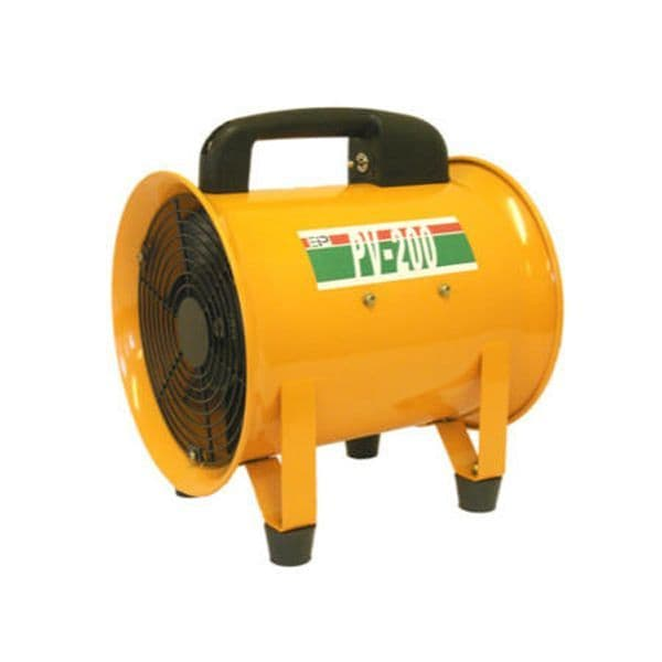 Ebac Industrial 1092660 PV200 Commercial Air Mover and Vent Extractor 200mm 2040m3/hr 240V~50Hz