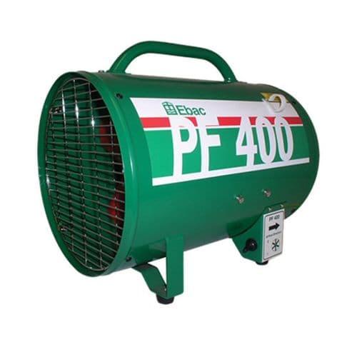 Ebac PF400 1092640 Power Fan Heavy Duty Power Extractor Ventilator 3600m3/hr 220V~50Hz