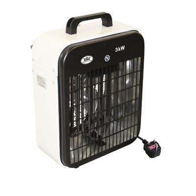 EH1600 3kW Electrical Fan Heater 3 Heat Settings 240V~50Hz
