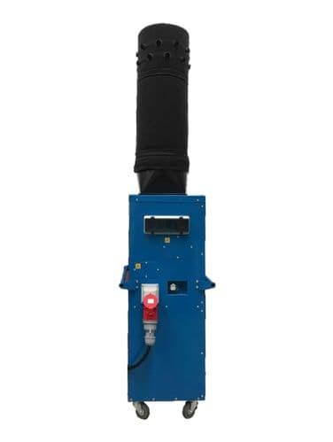 Electric Heater FFVH32 Portable Workshop Heater With Remote Thermostat 18Kw/60000Btu 415V~50Hz
