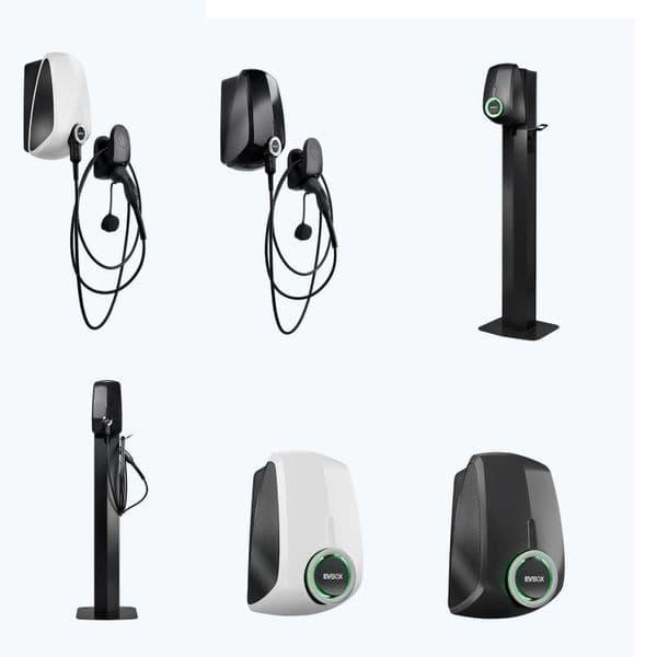 EVBox Elvi EV Charger Point 7.4kW Type 2 Wi-Fi Bluetooth 16A 240V~50Hz