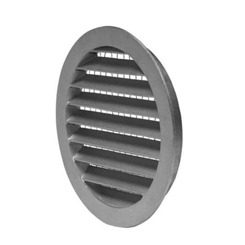 External Weather Louver Grille Valve For Outdoor Air Intake And Extract Air Discharge 80mm to 500mm