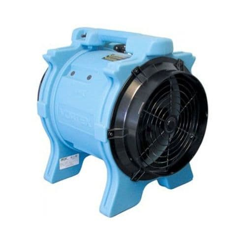 F174-UK Vortex Axial Fan Powerful And Efficient Air Mover 3359 m3 / Hr 110V~50Hz
