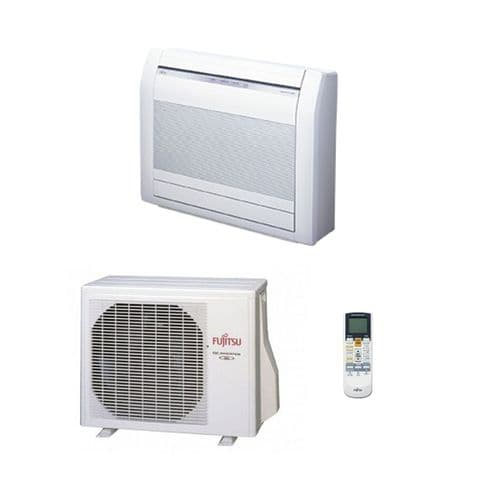 Fujitsu Air Conditioning AGYG09KVCA Floor Mounted Heat Pump Inverter 2.5Kw/9000Btu A+++ 240V~50Hz