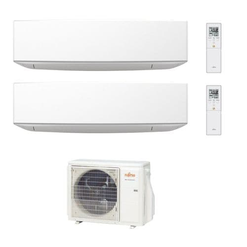 Fujitsu Air Conditioning AOYG18KBTA2 Designer 1 x ASYG09KETA 1 x ASYG12KETA Wall R32 A++ 240V~50Hz