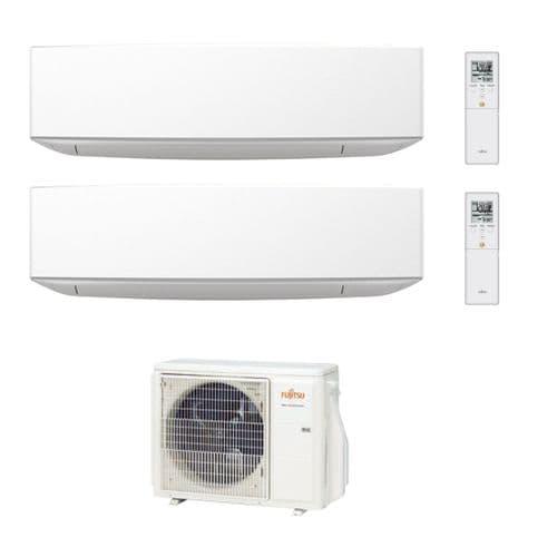 Fujitsu Air Conditioning AOYG18KBTA2 Designer 2 x ASYG09KETA 2.5Kw/9000Btu Wall R32 A++ 240V~50Hz