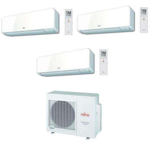 Fujitsu Air Conditioning AOYG18LAT3 3 x ASYG12KMCC 3.5Kw / 12000Btu Wall Heat Pump A++ 240V~50Hz