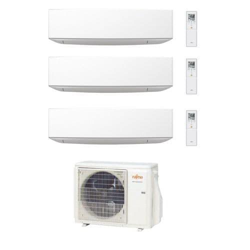 Fujitsu Air Conditioning AOYG24KBTA3 Designer 3 x ASYG09KETA Wall Mounted R32 A++ 240V~50Hz