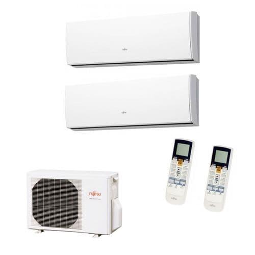 Fujitsu Air Conditioning AOYG24LAT3 Multi-Split Inverter Heat Pump 1 x ASYG12LMCA + 1 ASYG18LMCA Wall Mounted 240V~50Hz