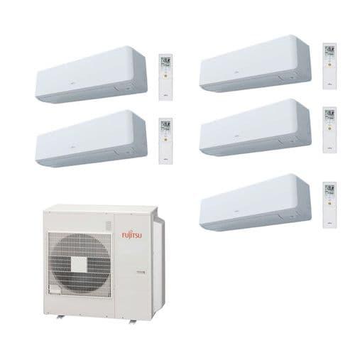 Fujitsu Air Conditioning AOYG36KBTA5 Heat Pump 5 x ASYG12KGTB 3.5Kw/12000Btu Wall R32 A++ 240V~50Hz