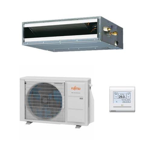 Fujitsu Air Conditioning ARXG18KLLAP Slim Duct Heat Pump R32 A++ 5Kw/18000Btu