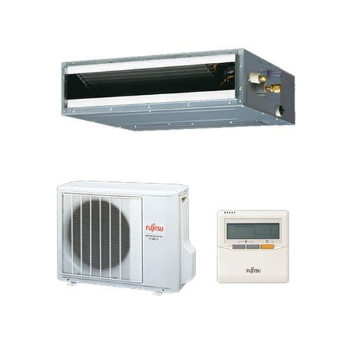 Fujitsu Air Conditioning ARYG14LLTB Slimline Convertible Concealed Duct Heat Pump Inverter (4Kw / 14000Btu) 240V~50Hz