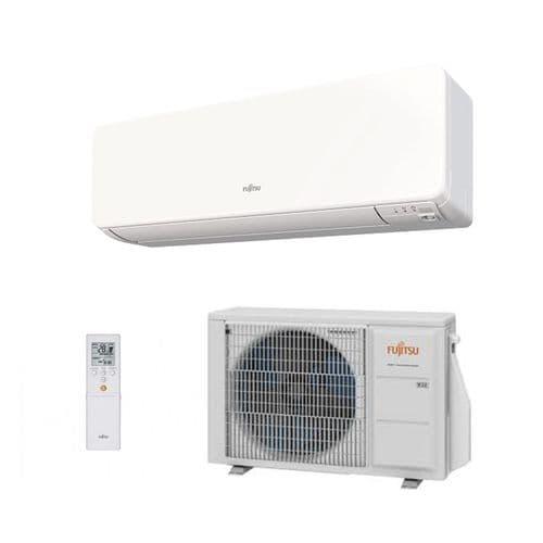 Fujitsu Air conditioning ASYG07KGTB Wall Mount Heat pump Inverter A+++ R32 2Kw/7000Btu Install Pack