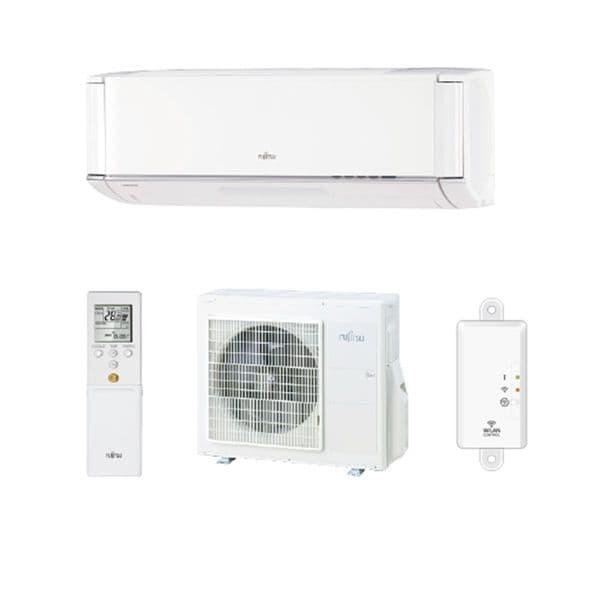 Fujitsu Air conditioning ASYG12KXCA Plasma Wall Mounted Heat pump A+++ R32 3.5Kw/12000Btu 240V~50Hz