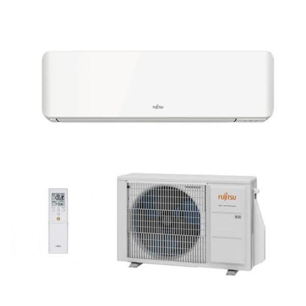 Fujitsu Air conditioning ASYG12KMCC Wall Mounted Heat pump A++ R32 3.5Kw/12000Btu Install Kit
