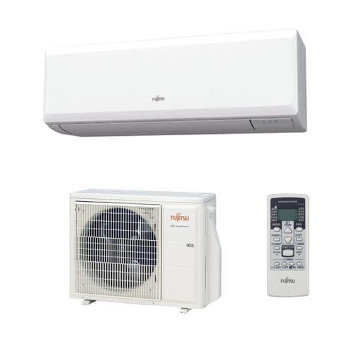 Fujitsu Air conditioning ASYG18KLCA Economy Wall Heat pump Inverter A++ R32 5Kw/18000Btu Install Kit