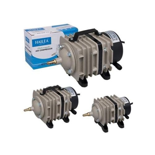 Hailea AC70 Air Pump For Hydroponic And Aquatic With 6 Way Manifold 70L/min 240V~50Hz