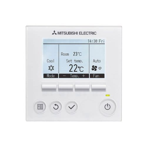 Hard Wired Mitsubishi Electric Air Conditioning PAR40MAA PAR-40MAA Wired Controller PAR33MA Replace