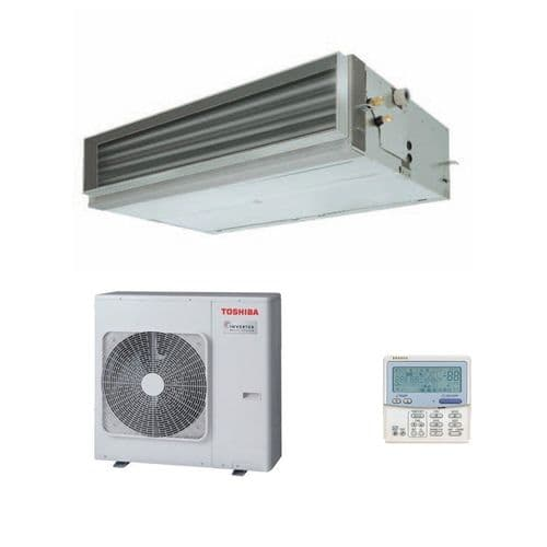 Toshiba Air Conditioning Ducted RAV-SM1406BTP-E 12.5Kw/42000Btu Heat Pump Inverter 240V/415V~50Hz
