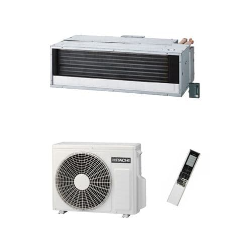 Hitachi Air Conditioning Ceiling Concealed Ducted RAD-25RPA Inverter Heat Pump 2.5Kw/9000Btu A 240V~50Hz
