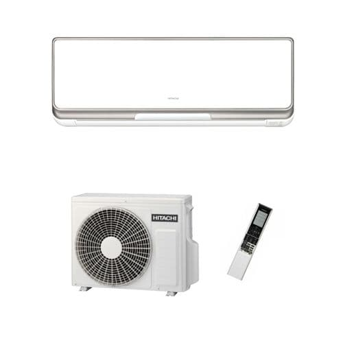 Hitachi Air Conditioning S-Series Wall Mounted RAK-25PSB Inverter Heat Pump 2.5Kw/9000Btu A+++ 240V~50Hz