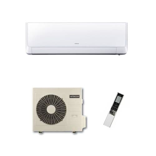 Hitachi Air Conditioning Shirokuma Wall Mounted RAK-50RXB Inverter Heat Pump 5Kw/18000Btu A++ 240V~50Hz