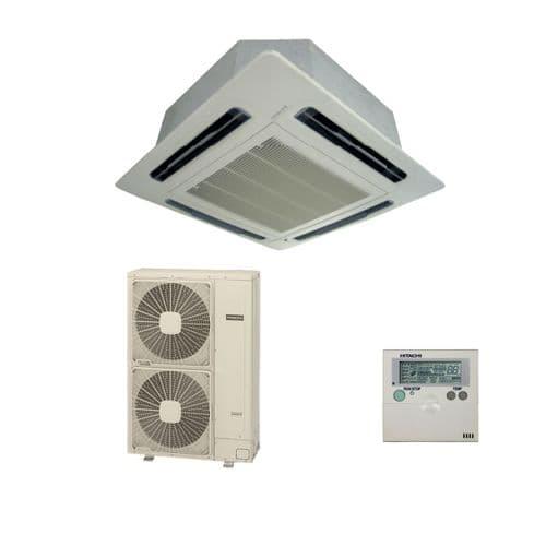 Hitachi Air Conditioning Utopia Premium Cassette RCI-5.0FSN3Ek Inverter Heat Pump 12.5Kw/43000Btu A 240V/415V~50Hz