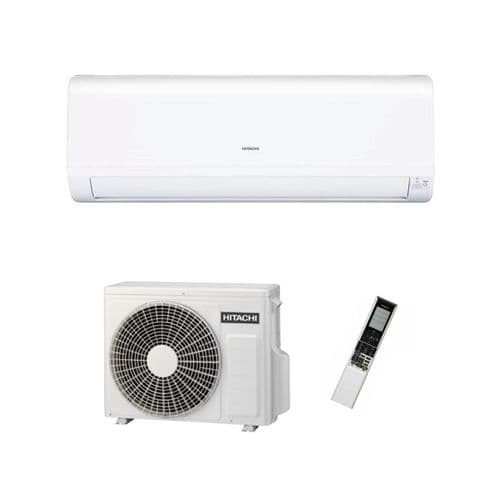 Hitachi Air Conditioning Wall Mount RAK-35RPD Performance Heatpump 3.5Kw/12000Btu A++ R32 240V~50Hz