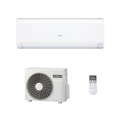 Hitachi Air Conditioning Wall Mounted RAK-25PED Heat Pump 2.5Kw/9000Btu A+ R32 240V~50Hz