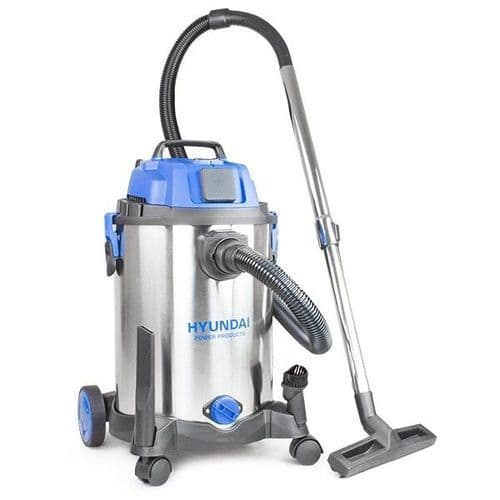 Hyundai Electric Vacuum Cleaner HYVI3014 1400W 3 IN 1 Wet and Dry HEPA Filtration