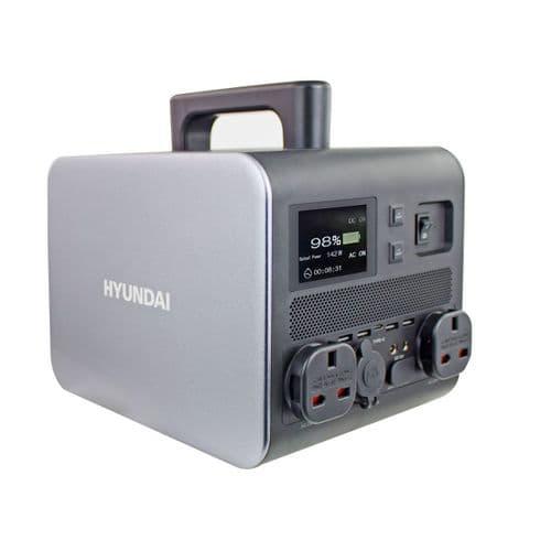 Hyundai HPS-600 Lithium-ion 10.8V/ 50Ah Portable Power Station