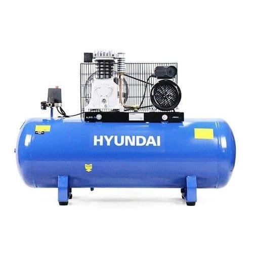 Hyundai HY3150S Direct Drive 'Pro Series' Belt Air Compressor 150L 240V~50Hz