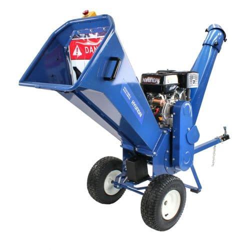 Hyundai HYCH1500E-2 420cc Petrol 4 Stroke Wood Chipper / Shredder / Mulcher 14hp