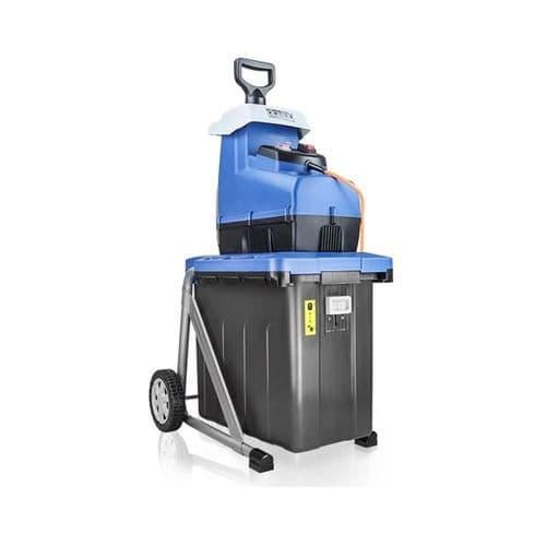 Hyundai HYCH2800ES Portable Wheeled Quiet Electric Garden Shredder 60L Bag 2.8Kw 230V