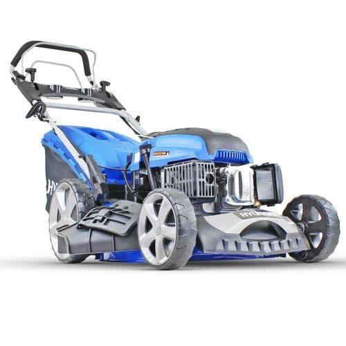 "Hyundai HYM80LI460SP 80V Lithium-Ion Cordless Battery Powered Self Propelled Lawn Mower 18"" Cutting"