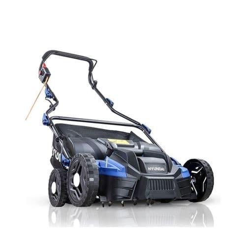 Hyundai HYSC1500E 1500W 360mm Electric Lawn Scarifier / Aerator / Lawn Rake 230V~50Hz