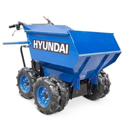Hyundai Mini Dumper HYMD500 4-Wheel Drive 500kg Payload 196cc Power Barrow