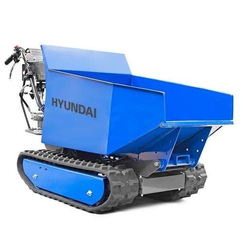 Hyundai Tracked Mini Dumper HYTD500 196cc Petrol 500kg Payload Power Barrow Transporter