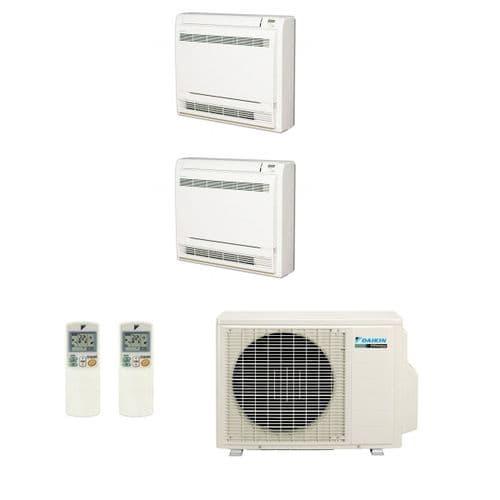 Daikin Air conditioning Multi 2MXS50H Heat Pump Inverter 2 x FVXS35F Floor/Console A+++ 240V~50Hz
