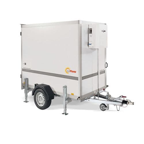 JetFlow MFR200-220 Trailer Mobile Packaged Freezer Coldroom -25DegC 6m3 240V~50Hz
