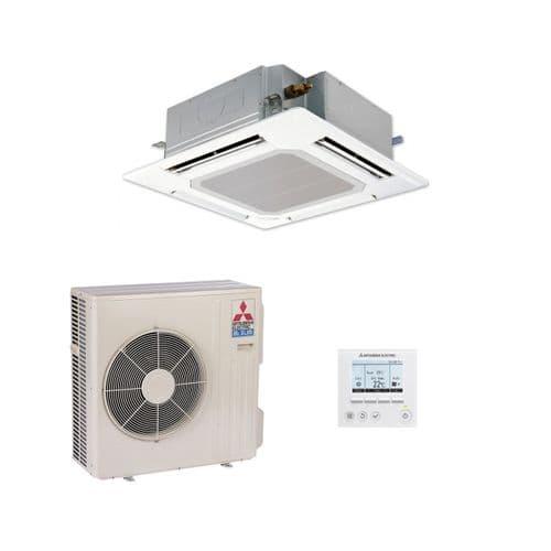 Mitsubishi Electric Air Conditioning Cassette PLA-SP100BA Inverter Heat Pump 10Kw/34000Btu A 240V~50Hz